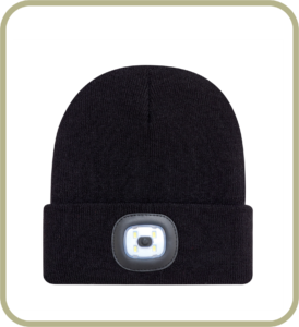 Toque with LED light